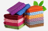 Бесплатная доставка 100 шт. первый класс качества йога одеяла 180 см расширенный йога полотенце, йога коврик