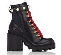 Designer stövlar kvinnor lyx kvinnor skor storlek 36-41 broderade läder stjärna kvinnor skor kvinna mode läder kort höst vinter fotled