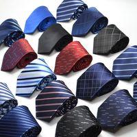 30 أنماط 8CM الرجال العلاقات الحرير التعادل رجل الرقبة العلاقات اليدوية حفل زفاف بيزلي ربطة العنق نمط البريطانية العلاقات التجارية المشارب
