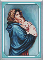 The Virgin Mary, Christian Jesus decor paintings, ручной вышивки крестом вышивка рукоделие наборы счетный печать на холсте DMC 14CT / 11CT
