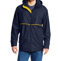 Высокое качество осень дизайнер куртка ветровка с капюшоном на молнии мода куртки с капюшоном пальто открытый спорт лицо плюс размер мужская одежда 2019