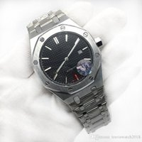 High Quality Mens Watch Luxury Brand Royal Black Dial Auatom...