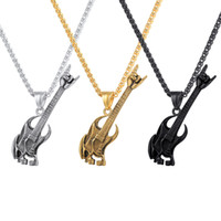 Rock Men Fashion Jewelry Guitar Music Lover Club Accessories...