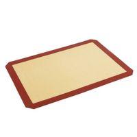 Silikon-Backmatte - Antihaft-Silikon-Liner für das Backen von Pfannen - Makronen / Gebäck / Plätzchen / Brötchen / Brotbacken