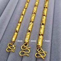 n299- Schwer 50 60 70cm Length18K Gold füllte kühle festen Verbindungs-Ketten-Mann-Halskette 6mm Breite