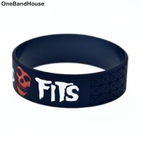 1PC Misfits Silicone Bracelet It is Soft And Flexible Great ...
