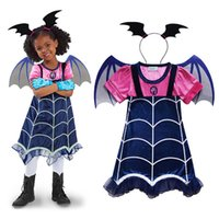2PCS V&irina Cosplay Dress With Bat Wings Headwear Cartoon Anime New Girl Dresses Costume Party V&ire Girl 2017 TV Series  sc 1 st  DHgate.com & Wholesale Costume Anime Vampire - Buy Cheap Costume Anime Vampire in ...