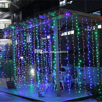8M x 3M 800LED Outdoor Home Christmas Decorative xmas String Fairy Curtain Strip Garlands Party Lights For Wedding Decorations