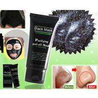 Nettoyage en profondeur Peel off Boue Masque pour le visage comédons Masque noir Supprimer le maquillage pour la tête noire Beauté 50g
