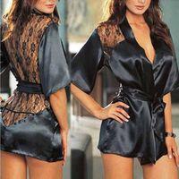 المرأة مثير / سيسي الرباط الملابس الداخلية بيبي دول G- سلسلة ثونغ ملابس نوم المملكة المتحدة # R87