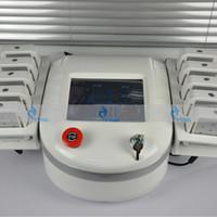 Двойная длина волны Smart I Lipo лазерная машина потери веса диод липо лазерное липолизная машина для похудения 650 нм 980 нм 10 большие лазерные подушки