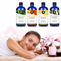 Orange Lemon Eucalyptus Pepper Mint Massage Oils 100% Pure E...