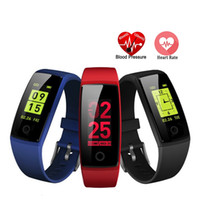 V10 Smart Wristbands Fitness Bracelet Color LCD Heart Rate M...