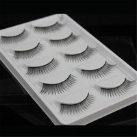 5 pairs Natural False Eyelashes Handmade Makeup Long Thick B...