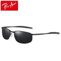 Óculos polarizados retângulo revestimento de condução óculos espelho do esporte dos homens Pro Acme Sun Glasses gafas oculos de sol PA0926