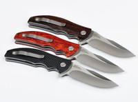 Tolerancia cero ZT 0606 bolsillo cojinete de bolas cuchillo plegable ZT0606 lámina D2 60HRC del cuchillo de cuchillos Adru