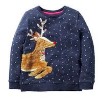 الفتيات هوديس مع الحيوان زين الخريف الشتاء طفلة ملابس الاطفال هوديي للبنات البلوز ملابس الأطفال 2-7y