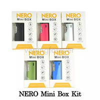 100% Original Nero Mini Box Vaporizer Kit Built- in 650mAh Pr...