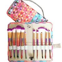 Bella Cullen 10pcs Einhorn Meerjungfrau Make-up Pinsel Set Fischschwanz Foundation Powder Lidschatten Make-up Pinsel Contour Blending