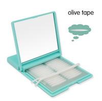 480Paris Eyelid Sticker Transpirable Invisible Narrow / Widen / Olive Párpado Paster One Side Cinta de párpado Técnica + 48prs Gratis