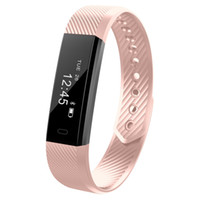 Pulseira inteligente Rastreador de Fitness Relógio Inteligente Passo Monitor de Atividade Contador Pulseira Inteligente Despertador Vibração Relógio de Pulso Para IOS Android