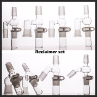 90 45 degrees reclaimer set for glass bong oil rig have 14 &...
