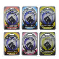 실용적인 4MB 8MB 16MB 메모리 카드 NGC CameCube 게임 큐브 GC 콘솔 용 저장 장치 DHL FEDEX EMS 무료 배송