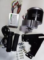 MY1016Z3 350W 24V 모터 컨트롤러 및 트위스트 스로틀, DIY 전기 자전거 키트, 전기 자전거 키트, DIY 액세서리