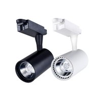 Modernes LED-Schienenlicht 20W 30W 220V Ausstellungsraum-Ausstellungsscheinwerfer COB LED Ceiling Rail Spot Lamp
