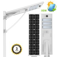 25W 30W 50W 60W 80W 100W intergrated solar outdoor led spotl...