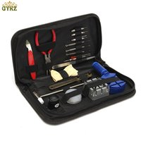 19PCS Professional Watch Repair Tools Kit Case Remover Opene...