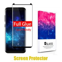 3D Full Glue adhensive Tempered Glass For Samsung Galaxy S9 ...