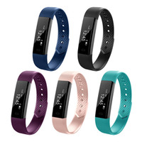 Fitness Bracelet ID 115 Smart Bracelet Vibrating Alarm Clock...