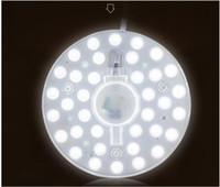 Светодиодный потолочный светильник замена источника света круглый 18 Вт монохромный встроенный модуль объектива источник света потолочный светильник дооснащение лампа доска