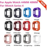 Soft Silicone Case Para Apple Watch iWatch Series 1 2 3 4 Capa 40mm 44mm