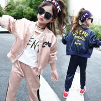 Kids Clothes Girls Tracksuit School Girls Autumn Spring Clot...