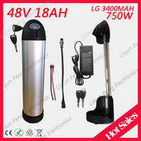 Electric Bike Lithium Battery for LG 3400MAh 18650 Cell 48V ...