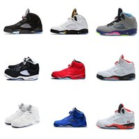 Hot Products shoes 5s Fire red mens basketball shoes Low Ney...