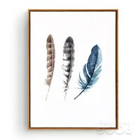 ome Decor Painting Calligraphy Watercolor Leathers Canvas Ar...