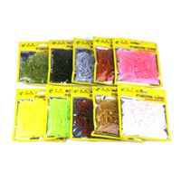 HENGJIA Artificial Soft Fishing Lure 50 pieces one Bag for J...
