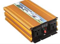 1000W reine Sinuswelle kann den Solarinverter 12V / 24/48 / zu 220V verbinden