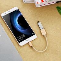 15cm Geflochtene Typ-C zu USB 2.0 / 3.0-Buchse Adapter OTG Datenkabel Kabel Adapter für Samsung s8 s9 Aluminium