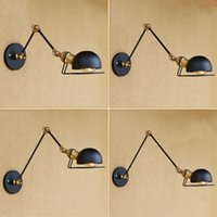 Vintage Loft style Industrial Wall Lights For Home Lighting ...