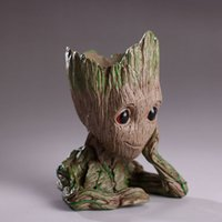Groot Action Figures Fashion Guardians of The Galaxy Flowerp...