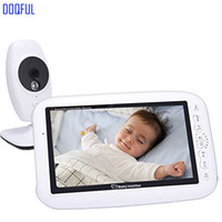 7 pouces sans fil numérique bébé moniteur vidéo vision nocturne détection de température enregistrement nuit vision nounou caméra baba électronique