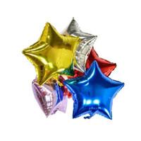 Feuille Ballons Étoiles Balles Bonne Année Partie Décoration Air Helium Ballons Maison Pour Cadeau De Noël Pour Les Vacances D'anniversaire 5 pcs