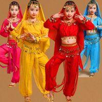 Salão de baile Crianças Crianças Ballet Dança Dancewear Latina Traje de Roupas Roupas de Dança Latina Criança Ballet Dance Dress Para Meninas
