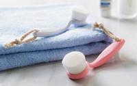 Brosse nettoyante pour le visage pour le nettoyage en profondeur des fibres stériles douces et flexibles pour le nettoyage en profondeur du visage