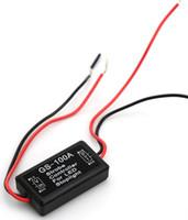 GS-100A فلاش ستروب المراقب المالي ل LED اللمعان الخلفي الفرامل الخلفية إيقاف ضوء مصباح اكسسوارات السيارات لدراجة نارية