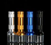 Yeni yaratıcı küçük el feneri bağımsız ambalaj tütün değirmeni metal boru sigara taşınabilir aksesuarları satış